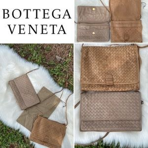 2 Bottega Veneta Intrecciato Crossbody/Clutch